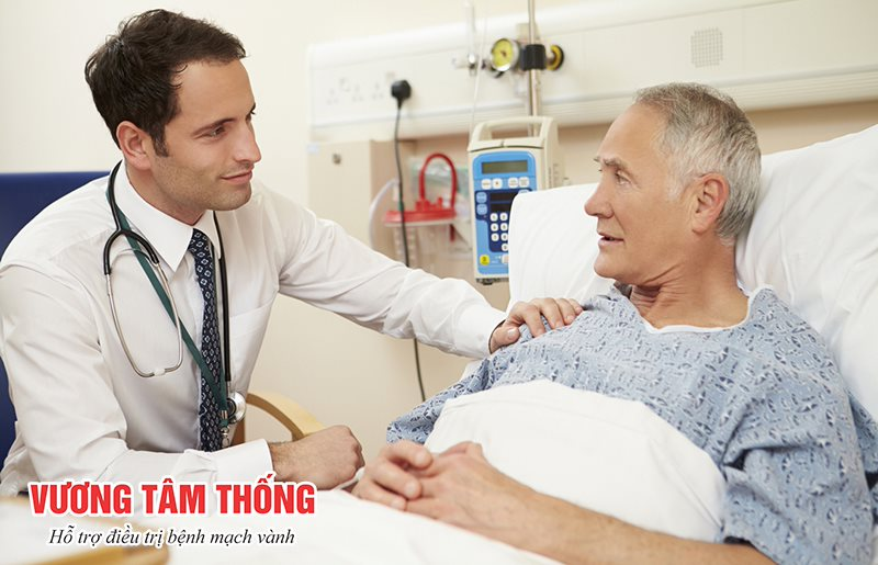 Trao đổi thật kỹ mọi vấn đề với bác sĩ trước khi phẫu thuật bắc cầu mạch vành